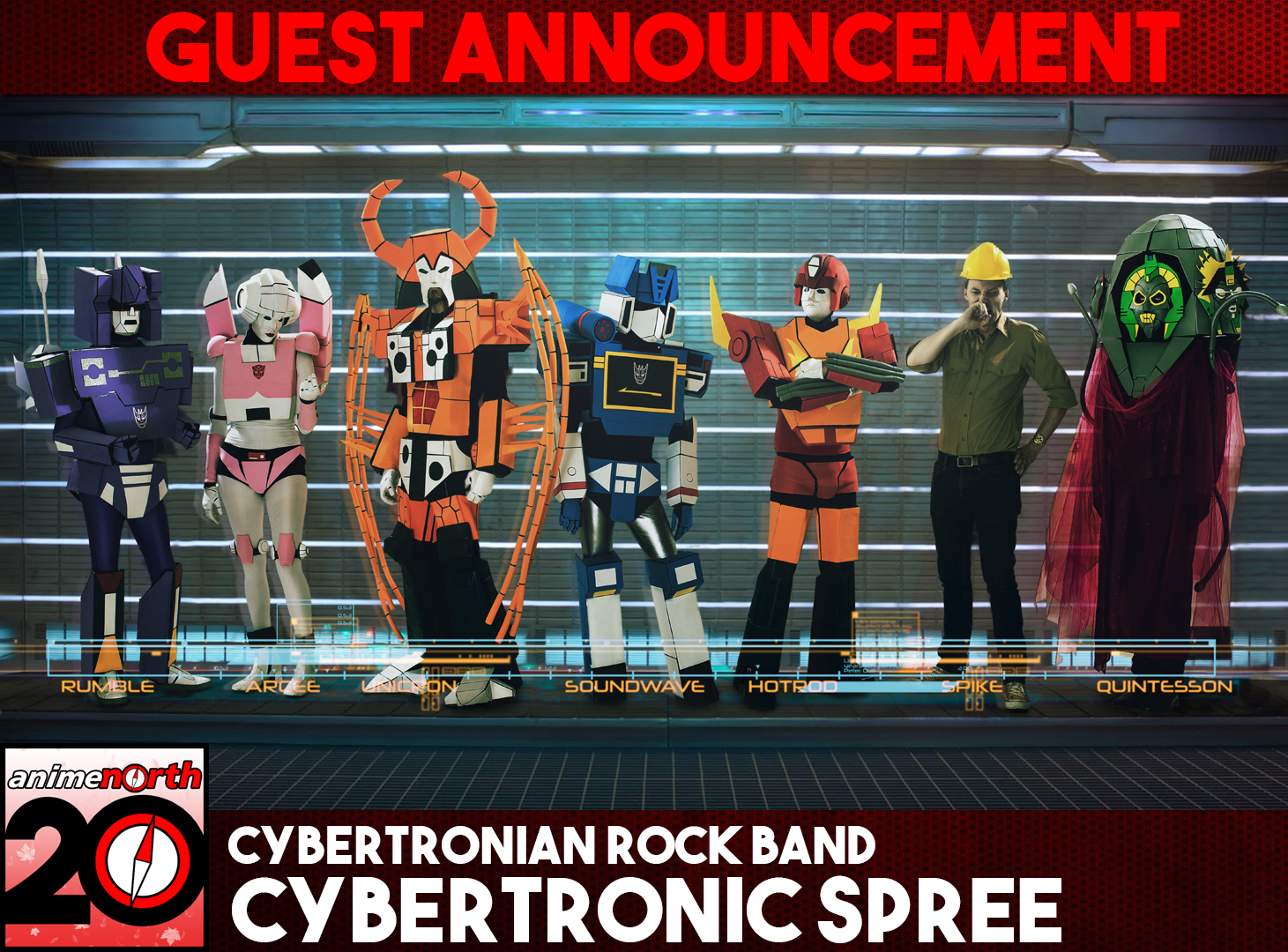Guest Update: Cybertronic Spree
