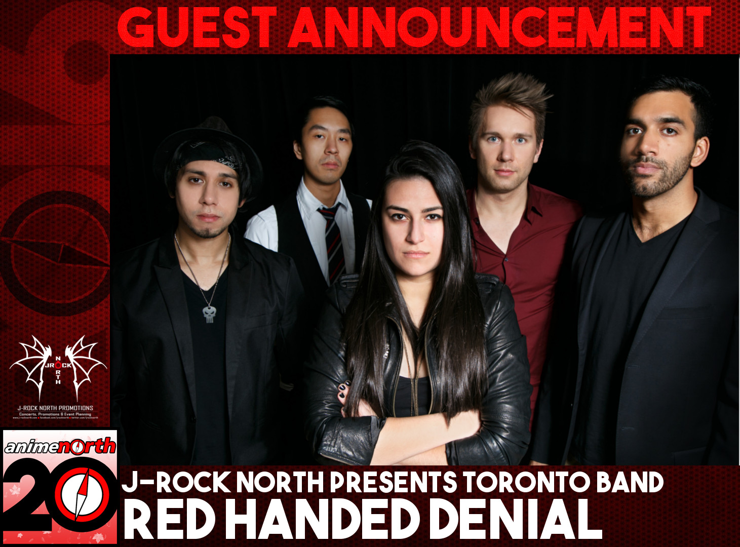Guest Update: RED HANDED DENIAL